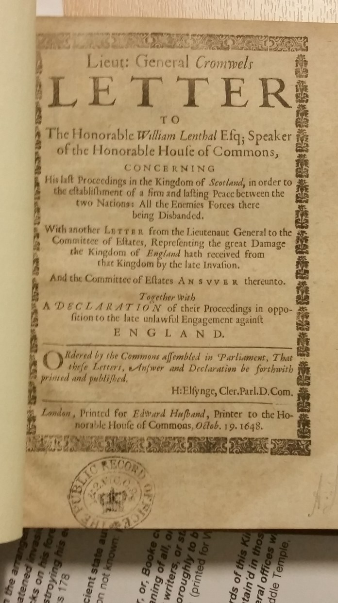 Commonwealth and Civil War Pamphlets 1640-1666