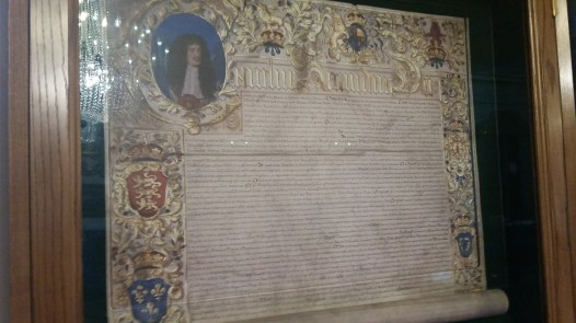 The Royal Charter 1687