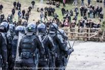 Ausschreitungen bei Demonstrationen gegen die Grenzkontrollen - 07.05.2016 (28 von 28)