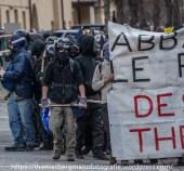 Ausschreitungen bei Demonstrationen gegen die Grenzkontrollen - 07.05.2016 (7 von 28)