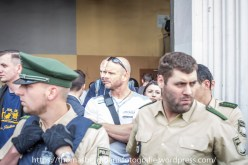 Neonazis kamen um die Demonstranten zu provozieren
