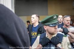 """Lukas Bals von """"Die Recht"""" - Neonazis kamen um die Demonstranten zu provozieren"""