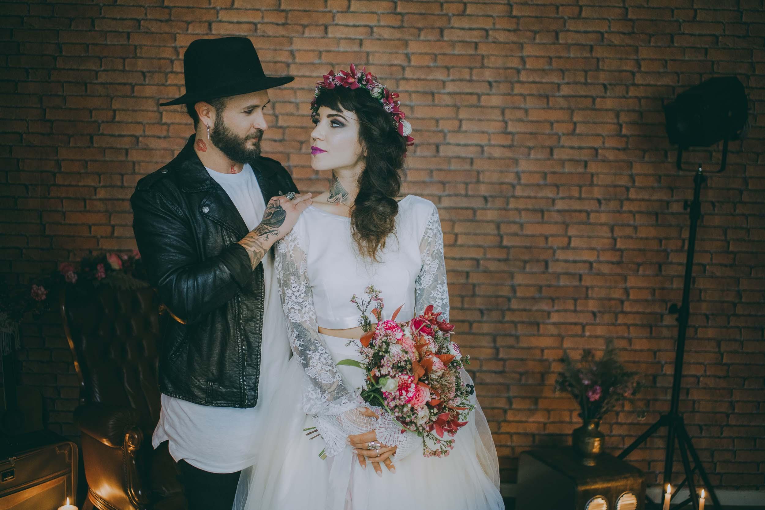 shooting inspiration mariage bohème rock photographe marseille - thomas bertini photography