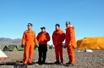 Search and rescue technicians at York Sound for Operation Nanook, Aug. 27, 2014. Photo: Thomas Rohner