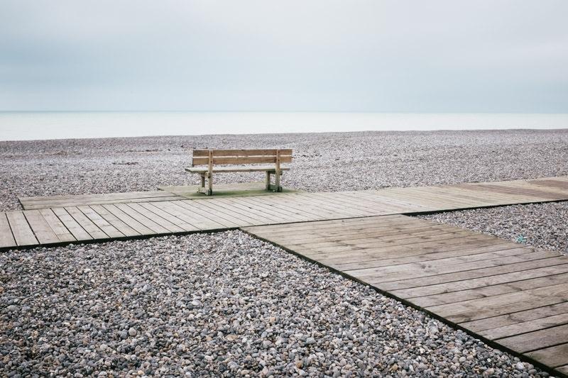 Baie de Somme : vue sur mer