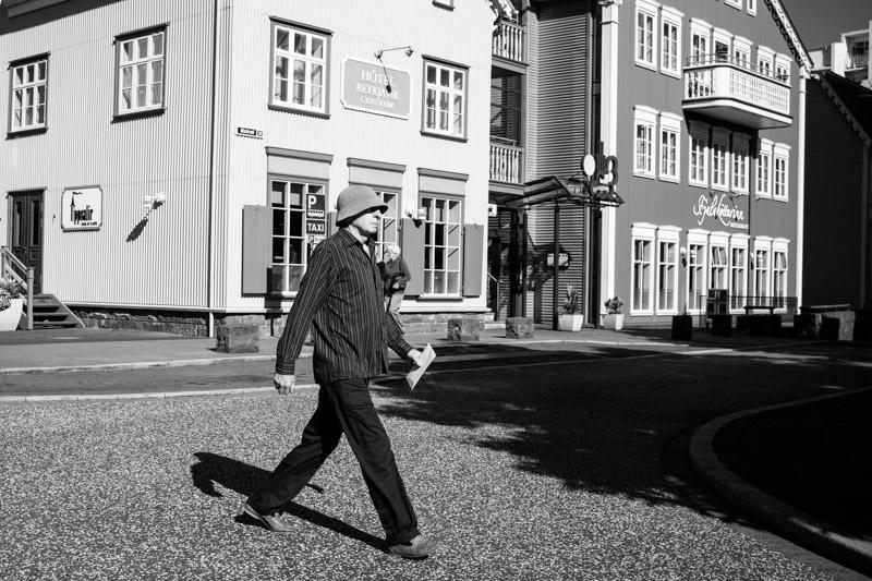 Fin du roadtrip - Streetphotography à Reykjavik