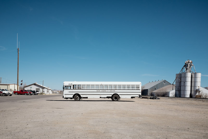 Ouest Américain - Willcox - Bus