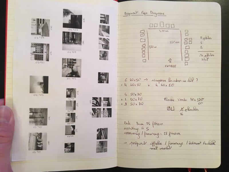 Exposer ses photographies : préparation de l'accrochage