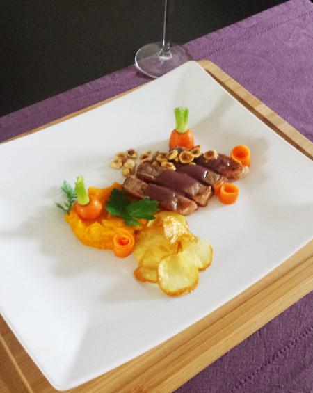 Recept entrecote met rode wijnsaus - Thomas Culinair