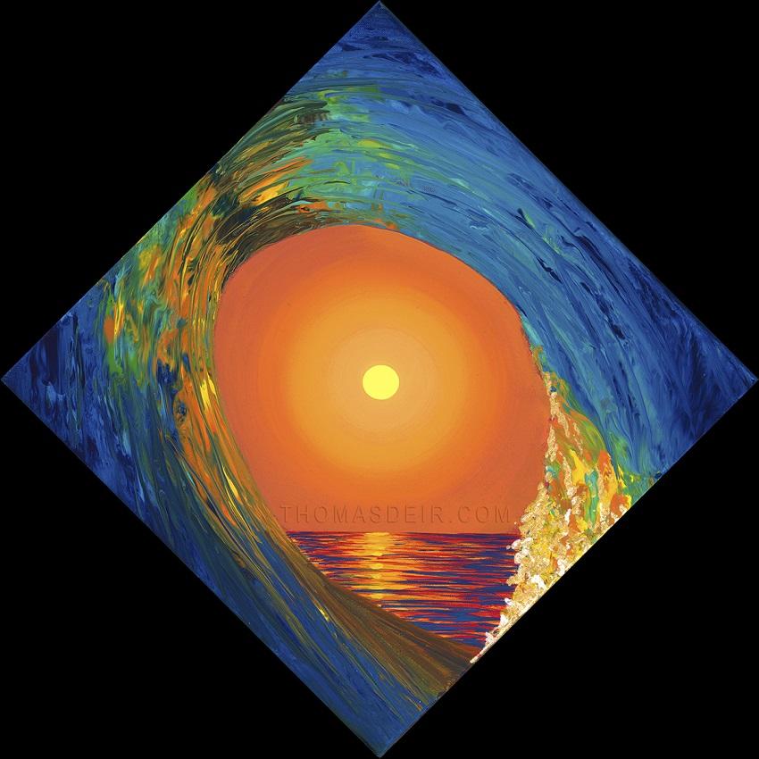 Hawaii Abstract Paintings By Hawaii Artist Thomas Deir