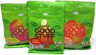 Goody Good Stuff er veganske vingummier, der kommer i flere varianter. De kan købes i 7eleven, Føtex, Bilka mm. og nogle gange sælges de også i Netto, Fakta mm.
