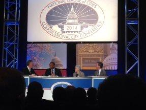 US Sec. of HUD Shaun Donovan, US Transportation Secretary Anthony Foxx, EPA Administrator Gina McCarthy