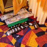 Bierparty im Hotel Kunterbunt