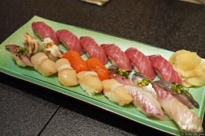 Sushizanmai: Sushi Platte / sushi platter