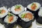 Sushizanmai: ひもきゅうまき (Sushirollen Muschelfleisch/sushi rolls with shell)