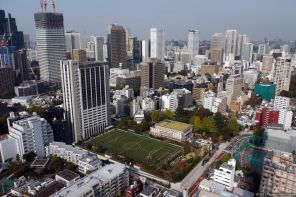 View from: Tokyo Tower