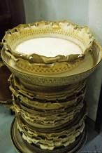 gebrauchte Kuh-Häute / used cowhide drumheads