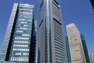 Shiodome Toppan Forms / Media Tower