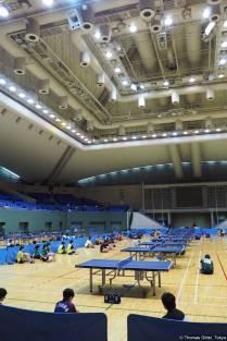 Gymnasium (駒沢体育館)