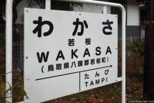 Wakasa Station (若桜駅)