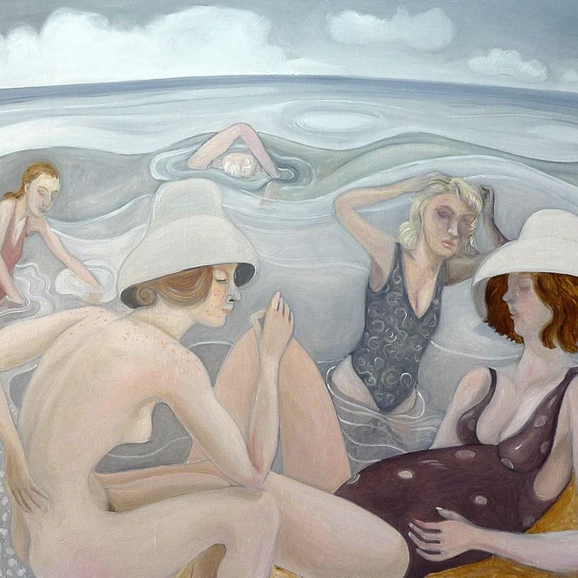 Thomas Groslier, peintures et dessins