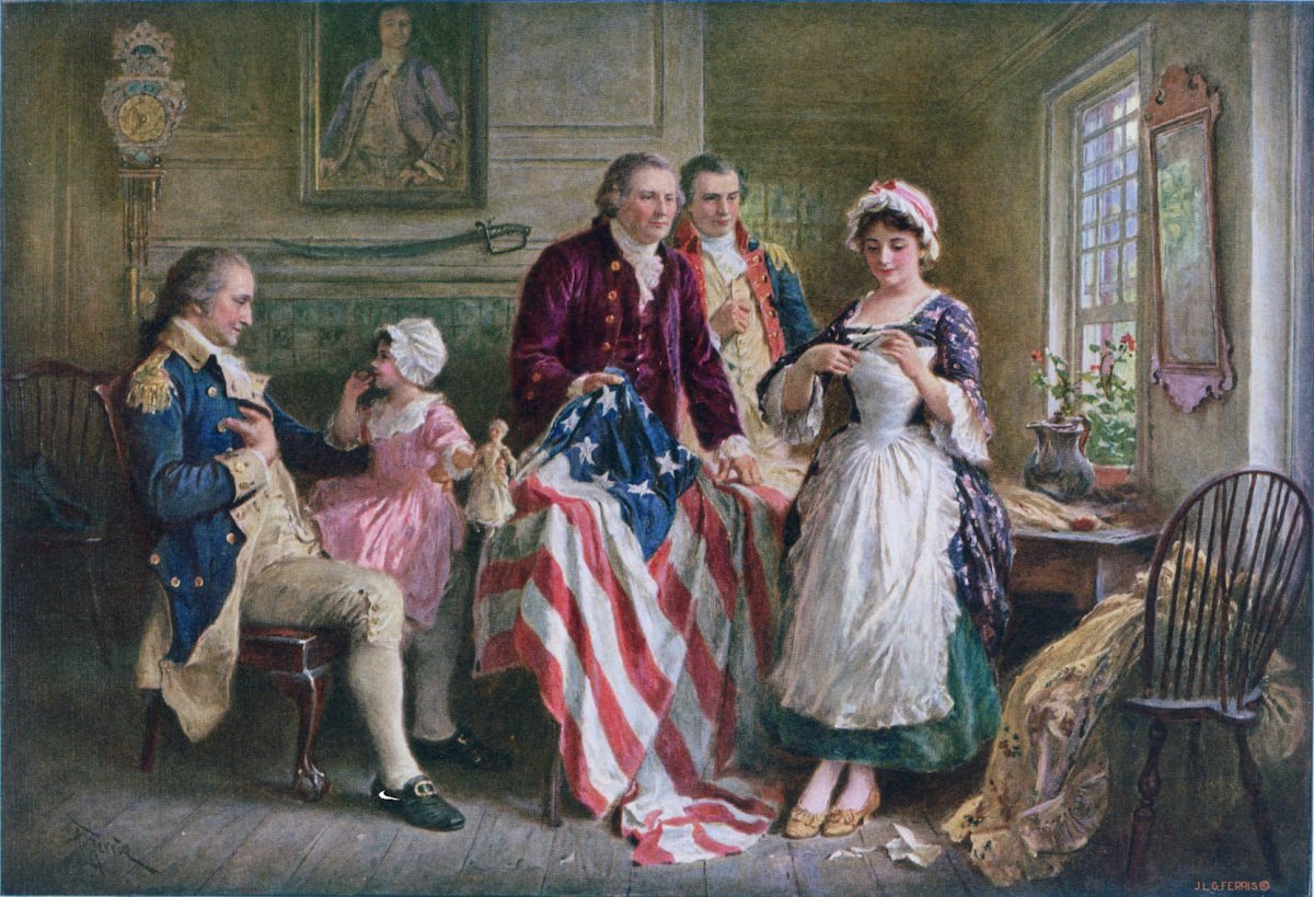 Betsy Ross and the losses of Victory