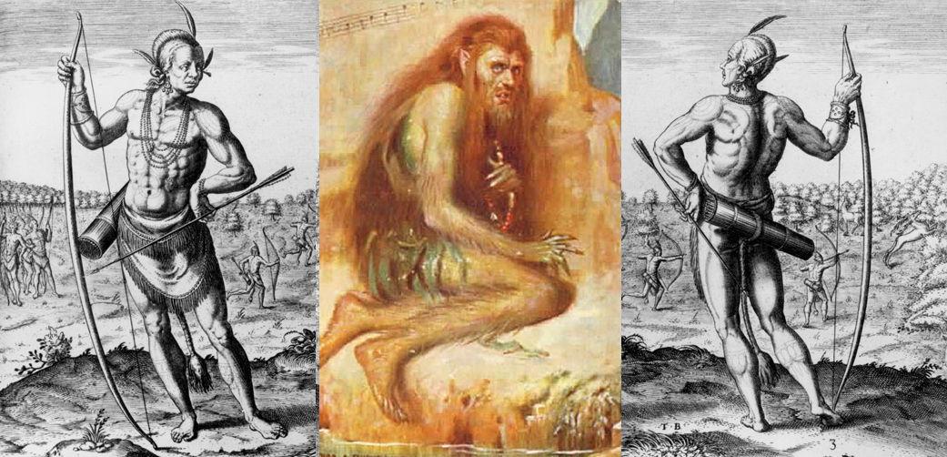 Caliban the wild man