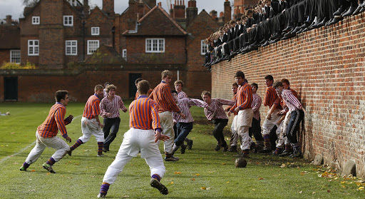 Surrendering on the playing fields of Eton