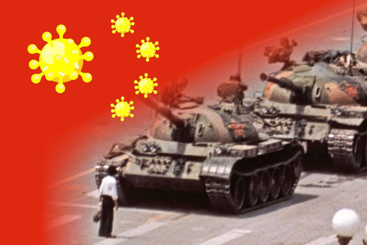 Forgetting Tank Man