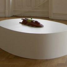 """Ausstellungsansichten: """"Geteilte Zeit"""" Stipendiaten des Künstlerhauses Edenoben Villa Streccius, Landau, 2013"""