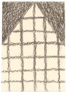 O.T., 2004, Graphit auf Papier, 10,5 x 7,4cm