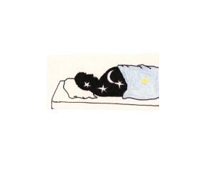 O.T., 2003, Tusche und Buntstift auf Papier, 4,7 x 6,9cm