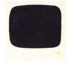 O.T., 2003, Blei- und Buntstift, Gouache auf Papier, 12,7 x 13,1cm