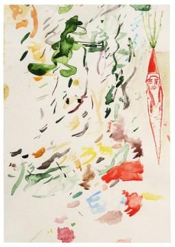 Looney Tune, 2010, Aquarell auf Papier, 29,7 x 21 cm