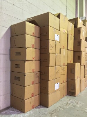 Boxes Stacked