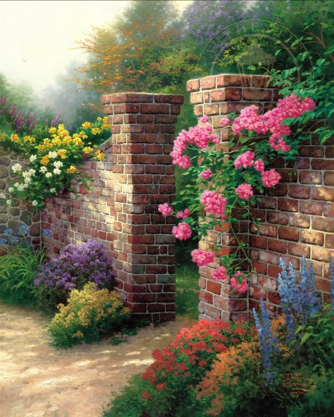 rose garden Rose Garden, The – Limited Edition Art | The Thomas
