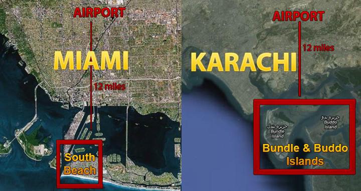 Newspaper Karachi Master 6 Karachi is getting the Biggest Island Development in the World!