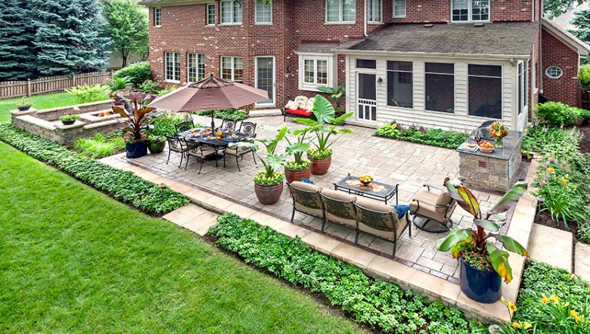 Professional Residential Landscape Designer |Thomas Landscapes on Backyard Landscape Designers Near Me  id=72131