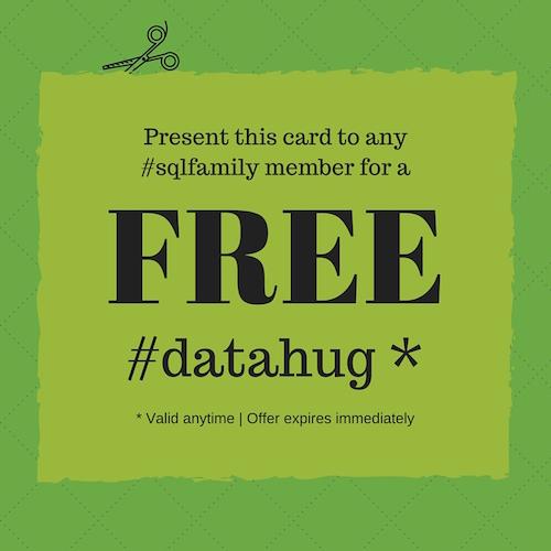 #datahug