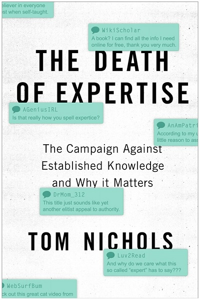 Book Review: The Death of Expertise