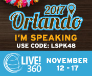 Speaking at SQL Server Live!