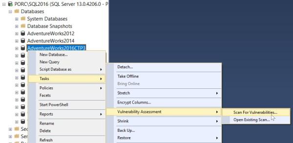 SQL Vulnerability Assessment Scan