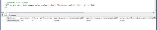When to Use Row or Page Compression in SQL Server