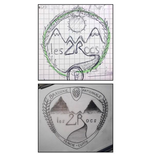 Le logo se précise...