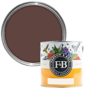 Farrow & Ball Deep Reddish Brown No. W101
