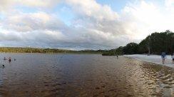 Brown Lake, comme son nom l'indique...