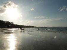Cylinder Beach, surf and sun