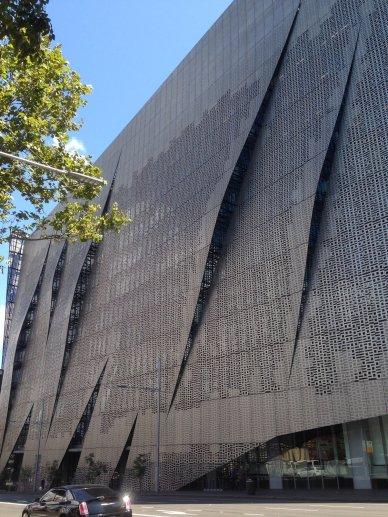 University building...
