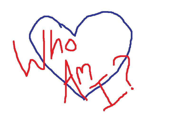 who am i heart