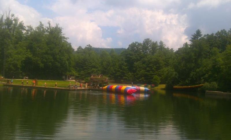 Camp Ridgecrest lake